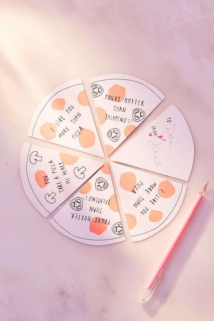 Meri Meri Pizza Love Notes Set ($8)