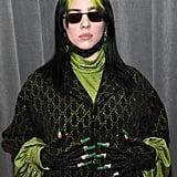 Billie Eilish at the 2020 Grammy Awards