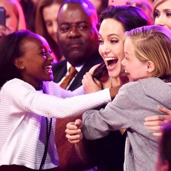 Angelina Jolie With Her Daughters | Pictures
