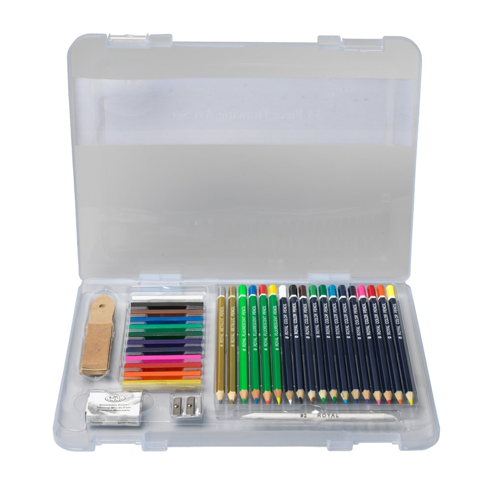 For 7-Year-Olds: The Metropolitan Museum of Art 35-Piece Drawing Art Set