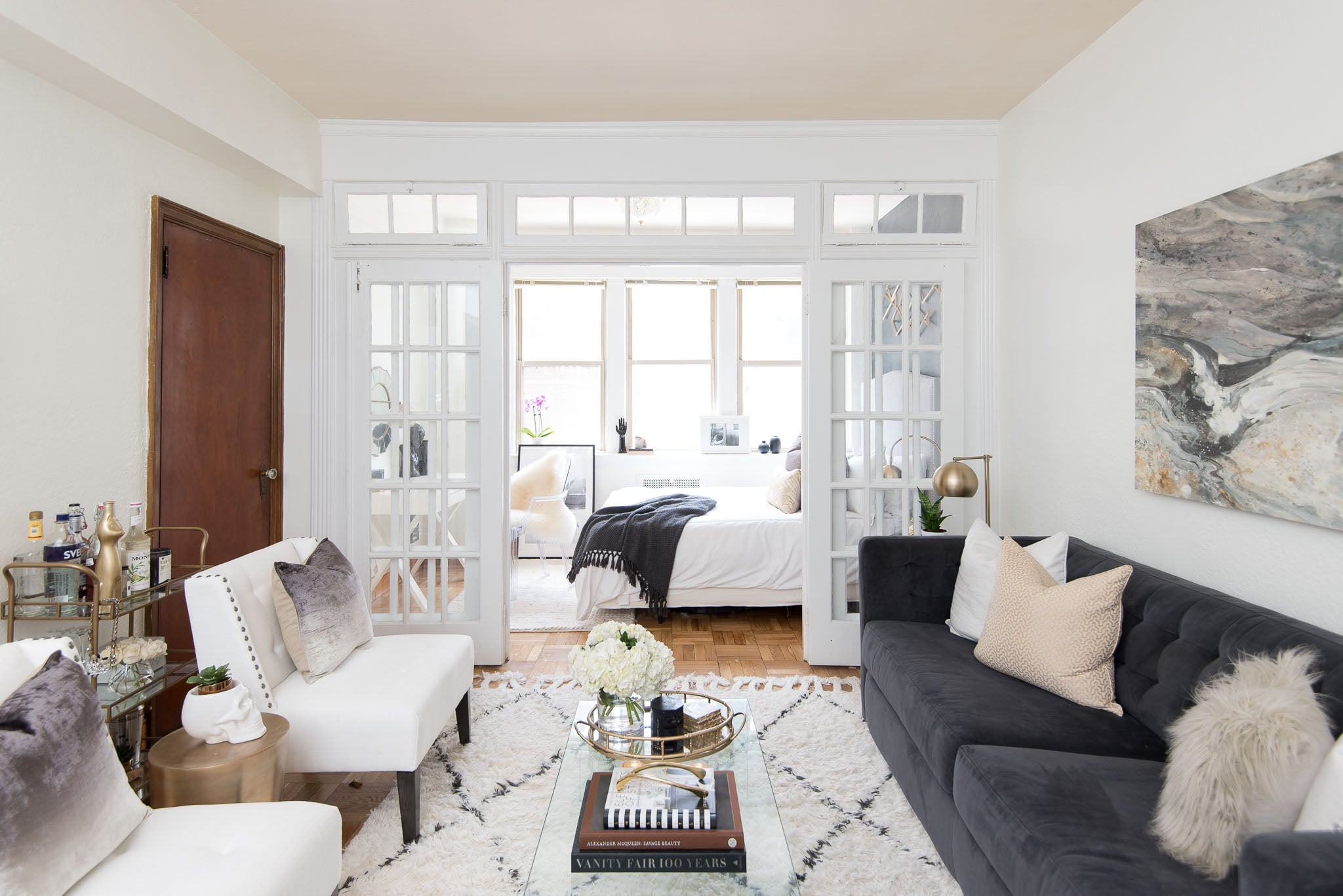 POPSUGAR: Where should someone start decorating when they move into a | How  to Decorate a Rental Apartment From Scratch on a Budget | POPSUGAR Home  Photo 2