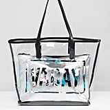 New Look Vacay Clear Beach Shopper Bag