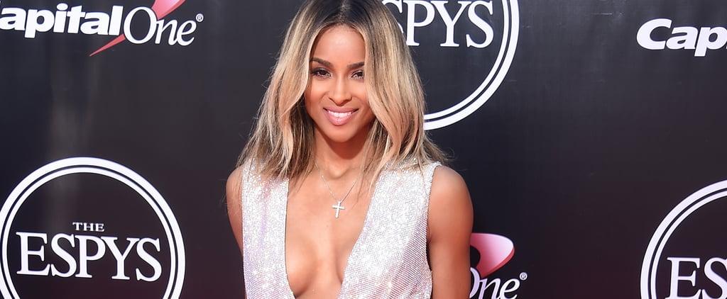 Ciara Found a Sexy ESPYs Dress to Maintain That Post-Wedding Glow