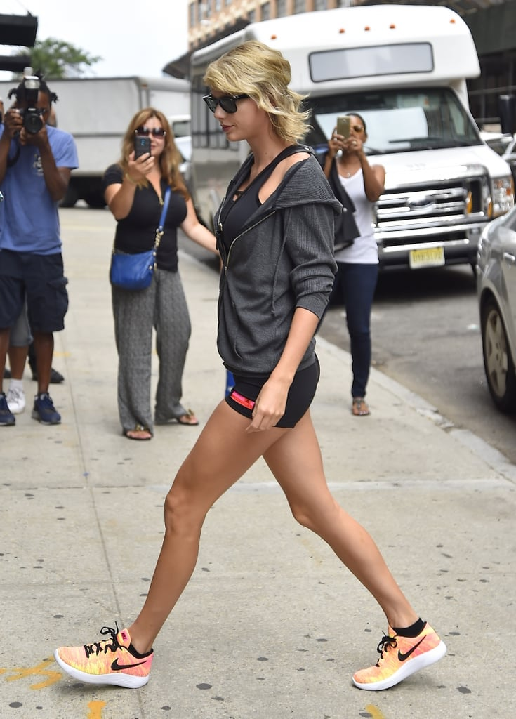 Taylor Swift Wearing Shorts in NYC August 2016