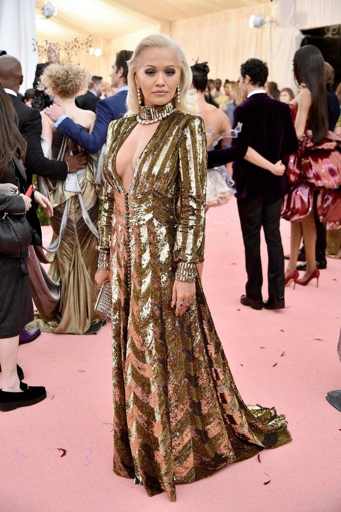 Rita Ora at the 2019 Met Gala