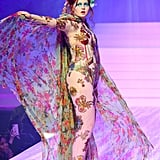 Tess McMillan on the Jean-Paul Gaultier Runway