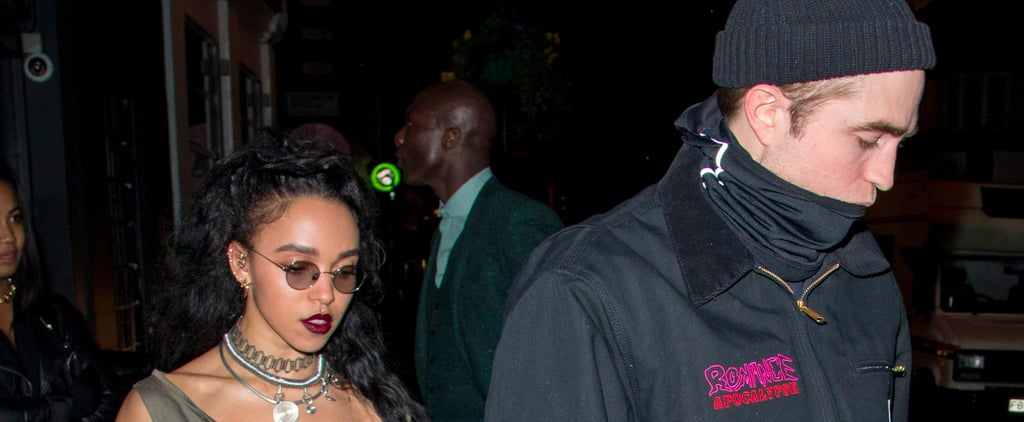 Robert Pattinson and FKA Twigs Hit the Town For Date Night in London