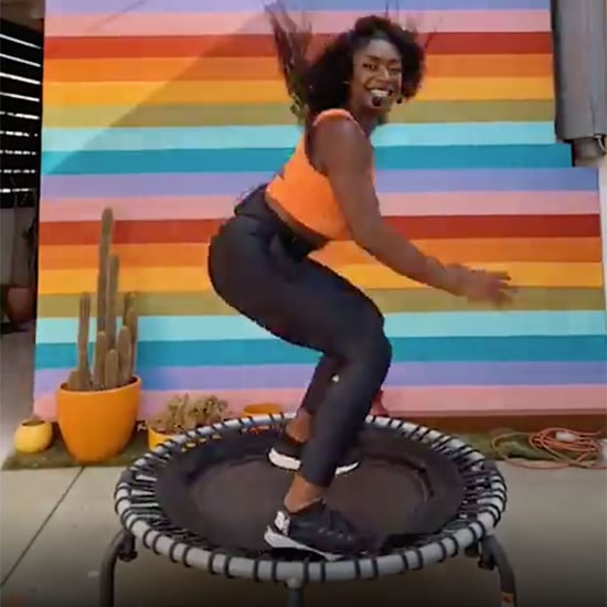 Cardio Bounce Workout on a Mini Trampoline by Shantani Moore