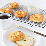 Garlic Herb Bagels