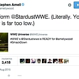 "Then, Stephen Amell then commented on his ""poor form."""