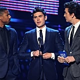 Zac Efron Is One Part of a Hot PCA Trio