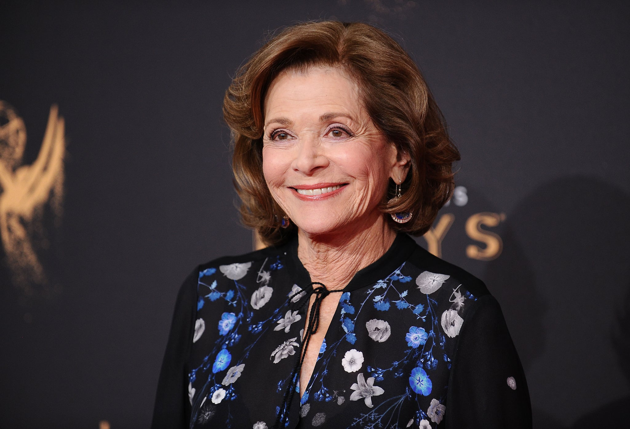 LOS ANGELES, CA - SEPTEMBER 09: Actress Jessica Walter attends the 2017 Creative Arts Emmy Awards at Microsoft Theatre on September 9, 2017 in Los Angeles, California.  (Photo by Jason LaVeris/FilmMagic)