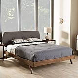 Baxton Studio Penelope Tufted King Platform Bed