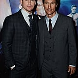 Channing Tatum and Matthew McConaughey linked up at the Magic Mike premiere in London.