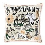 Transylvania Halloween Themed Throw Pillow