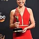 Tatiana Maslany at the Emmy Awards 2016