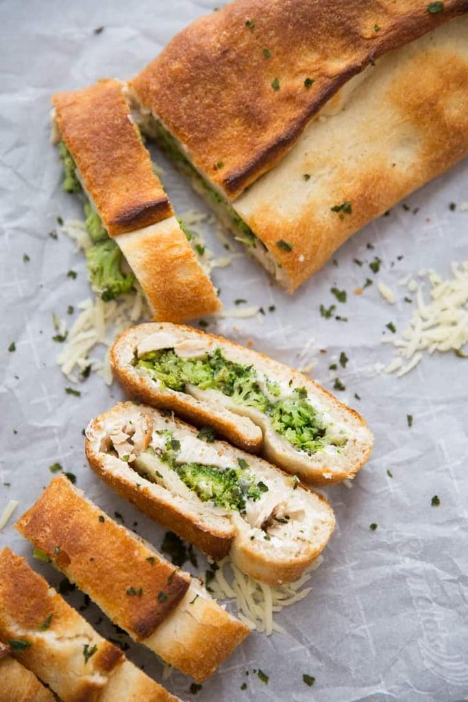 Turkey and Broccoli Stromboli