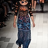 Bella's First Anna Sui Look Was This Three-Quarter-Sleeved Printed Maxi Dress