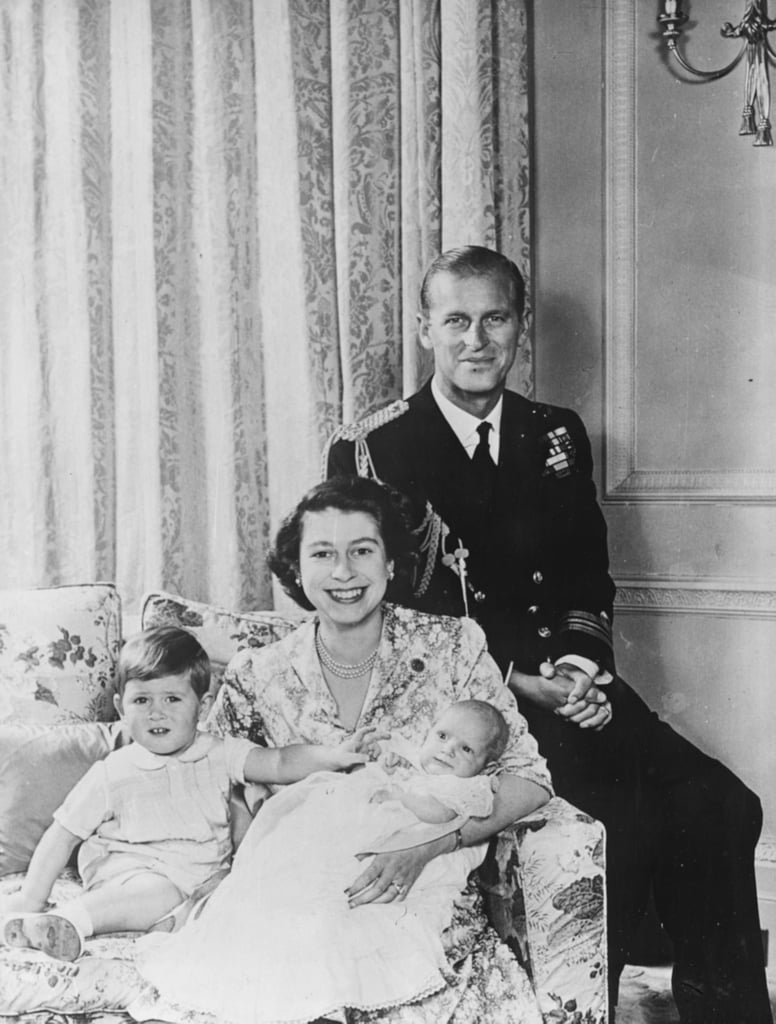 Prince Charles, Princess Elizabeth, Prince Philip, and Princess Anne, Clarence House