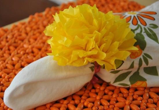 DIY: Vibrant Pom-Pom Napkin Rings