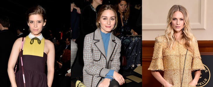 Stylish Celebrities At 2015 Autumn Winter Paris Fashion Week