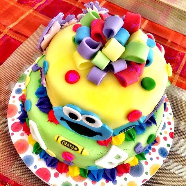 Sesame Street Cakes POPSUGAR Moms