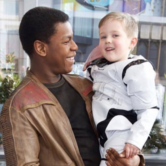 John Boyega Visits Sick Kids Dressed in Star Wars Costume