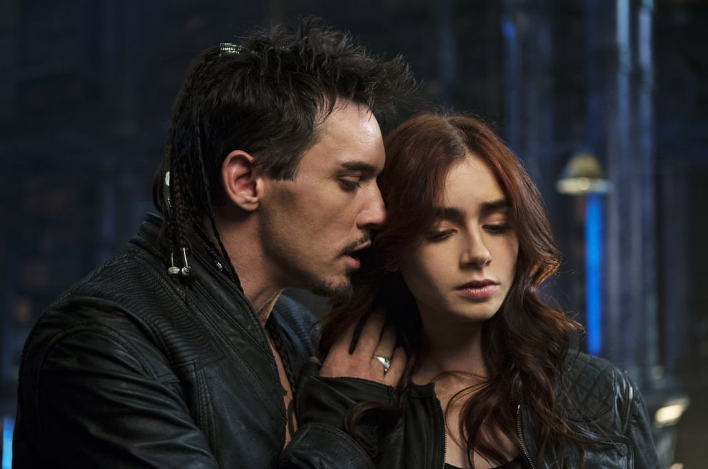 Jonathan Rhys Meyers As Valentine And Lily Collins As Clary In The Mortal  Instruments: City