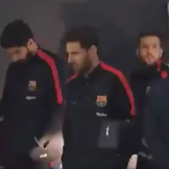 3 Types of People Barrier GIF of Messi, Suarez, and Alba