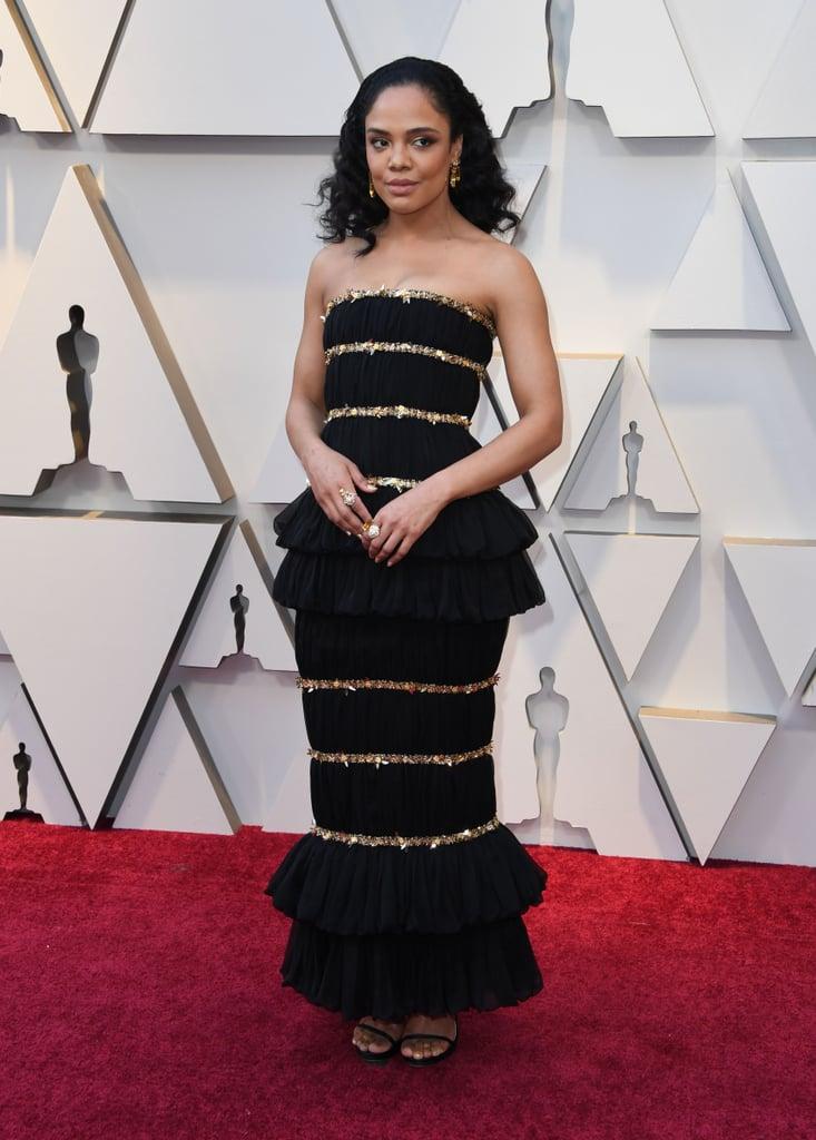 Tessa Thompson at the 2019 Oscars