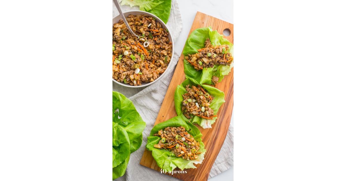 whole30 p f chang s lettuce wraps paleo side dishes popsugar