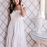 Gal Meets Glam Collection Desiree Bow Back Sundress