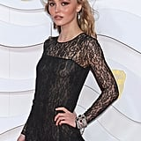 Lily-Rose Depp's See-Through Chanel Dress at the 2020 BAFTAs