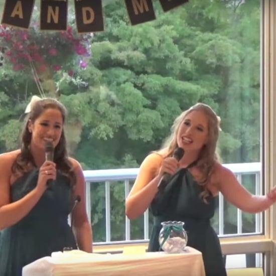 Sisters Sing Disney Wedding Toast