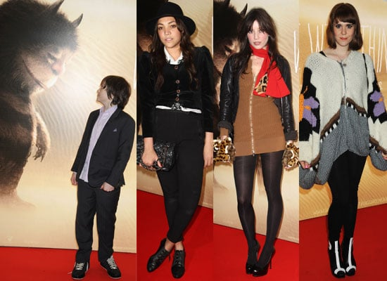 Photos from the UK Premiere of Where the Wild Things with Max Records, Miquita Oliver, Kate Nash, Daisy Lowe, Georgia May Jagger