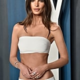 Emily Ratajkowski at the Vanity Fair Oscars Afterparty 2020