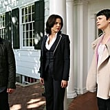 How do the newly reunited Mary Margaret and David feel about Regina?