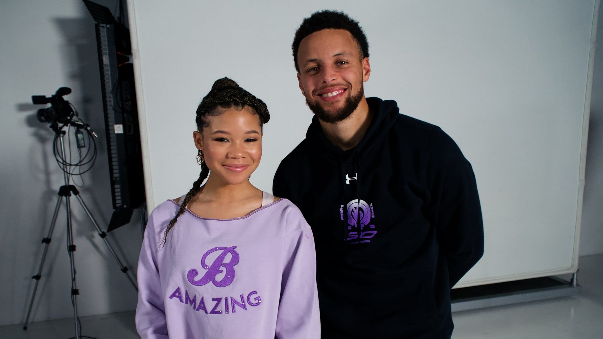 Storm Reid And Steph Curry S Curry 7 Shoe Collab Popsugar Fitness Australia