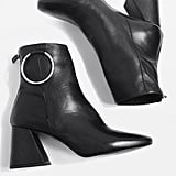 Mia Leather Ring Boots (£82)