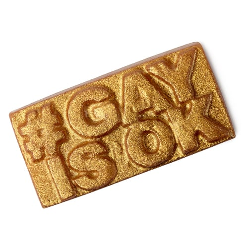 Lush Cosmetics Gay Is OK Soap