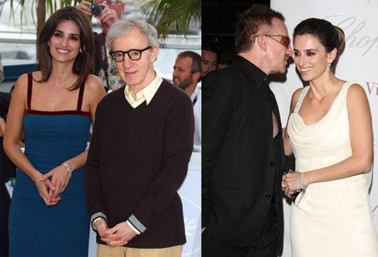 Penelope Promotes Vicky Christina Barcelona in Cannes