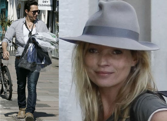 Photos of Kate Moss and Jamie Hince in North London