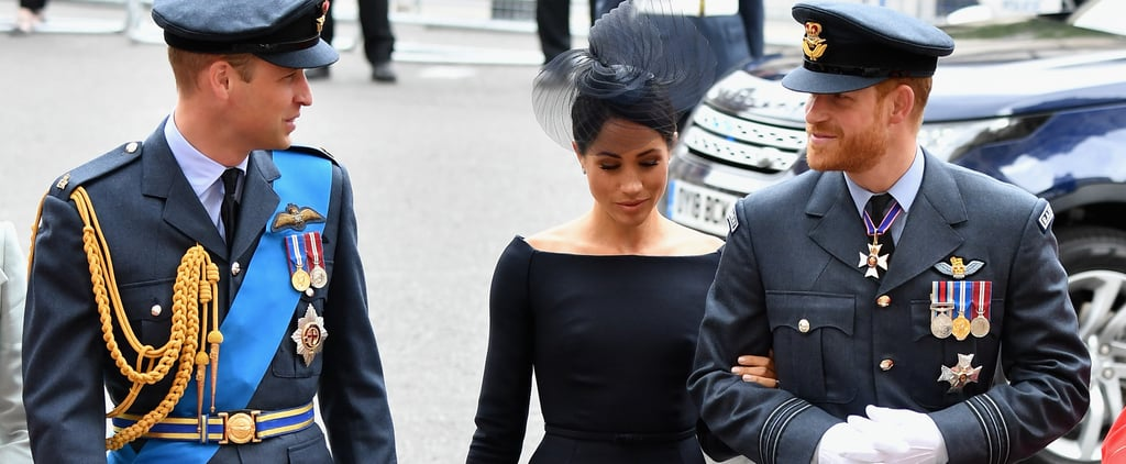 Meghan Markle's Black Dior Dress