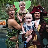 2011 — Peter Pan, Captain Hook, Tinkerbell, and Mr. Smee