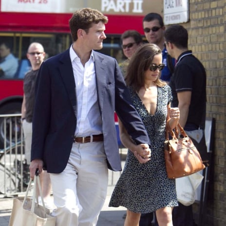 Pippa Middleton and Alex Loudon Pictures in London