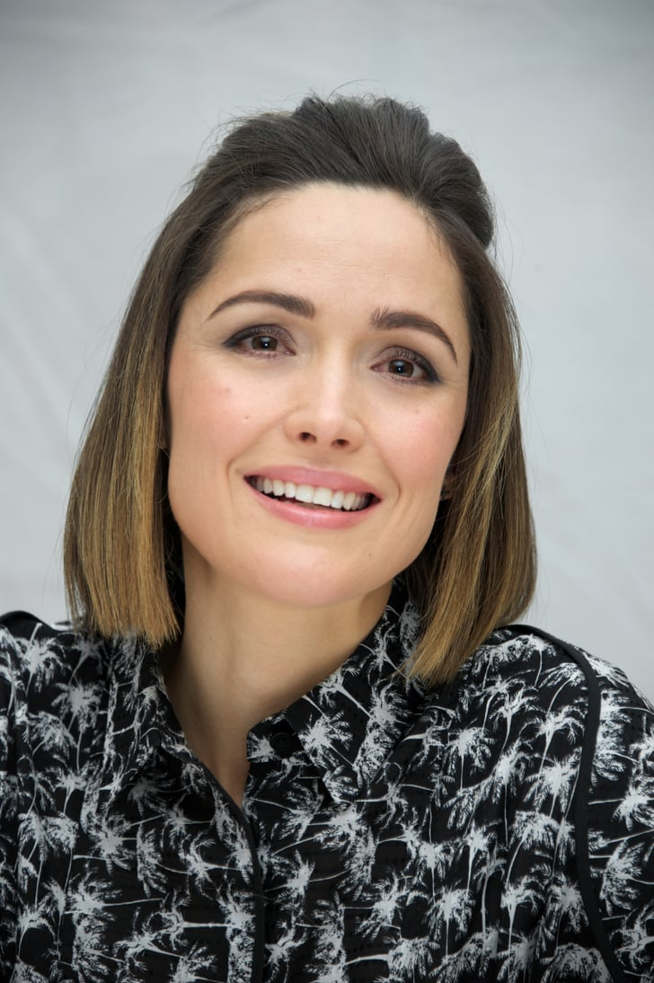 Rose Byrne How To Do Updos For Short Hair And Bobs