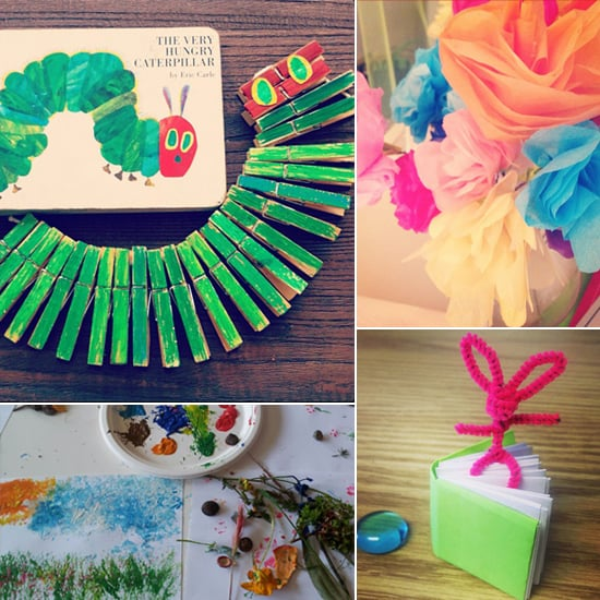 Easy Kids Crafts Popsugar Family