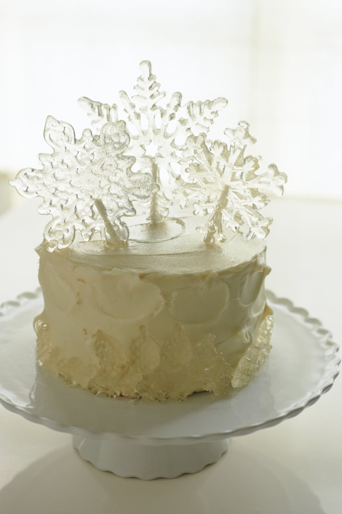 A Snowflake Cake