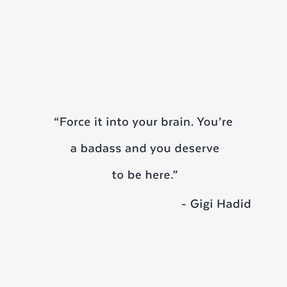 Inspirational Sayings Gigi Hadid Lena Dunham And Ruby Rose Inspirational Quotes