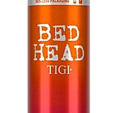 "Bed Head Showdown (coming soon to Ulta) is one of Justice's under-$20 hair essentials. ""It's hot in the summer,"" she said. ""If I want to put my hair in a tight bun that would be great to sort of smooth this down, give it a slight shine and get rid of frizz."""